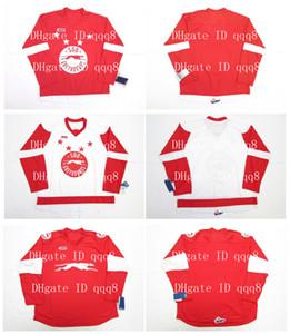 OHL SAULT STE. MARIE SOO GREYHOUNDS Maglie Rosso Bianco Personalizzato Qualsiasi nome Numero 100% maglie personalizzate per hockey