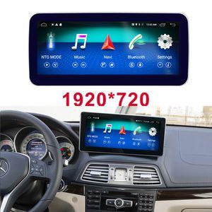 10,25 дюйма 4G + 64G Android экран 10 автомобилей Радио Bluetooth GPS навигация WiFi автомагнитолы для Mercedes Benz E-Class Coupe C207