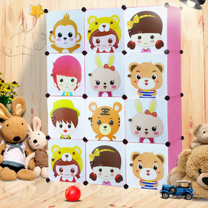Children Cabinet Furniture baby plastic storage cabinet organizador juguetes infantil armarios de plastico baby wardrobe closet