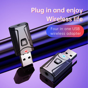 Mini Wireless Bluetooth Receiver function 2 in 1 Car Audio Headphone Player TV Notebook desktop Adapter Convenience received
