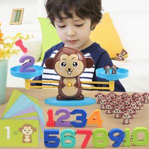 Explosão início educação animados do estilo animal bebê inteligência educação precoce matemática P118 presente das crianças brinquedo equilíbrio aprendizagem