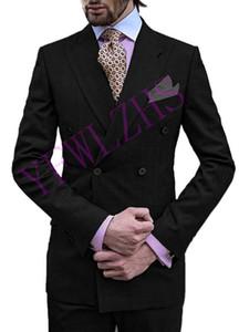 잘 생긴 신랑 들러리 더블 브레스트 신랑 턱시도 남성 웨딩 드레스 자켓 재킷 댄스 파티 저녁 식사 (재킷 + 바지 + 넥타이) K32
