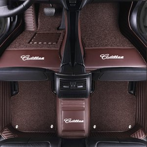 Luxo logotipo personalizado Piso Mats Car Com Carro de Volvo XC90 XC60 S90 S60 V60 V40 V90 Auto Floor Mat Car Acessórios Tapete Pé Pad
