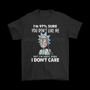 Marka ben 97% eminim beni beğenmiyorsun umrumda değil t- shirt 2019 yaz erkek kısa kollu t- shirt