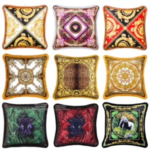 Alto grau de 50x50cm Elegante Soft Pillowcase Nordic Luxurious Villa Living Room Sofisticado sofá de couro fronha Almofadas