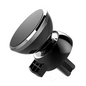 Haute Qualité magnétique récent forte voiture Air Vent Mount Universal Phone Holder Avec Retail Package berceau