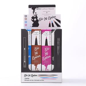 siyah kahve mavi mor 4 renk göz kalemi top boncuk göz kalemi ücretsiz nakliye için 4colors NYX Eunhye ev sınır ötesi