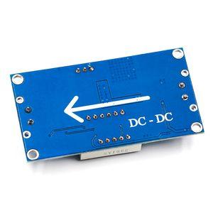 LM2596 벅 스텝 다운 전원 컨버터 모듈 LED 디지털 전압계 디스플레이 조정위원회 DC-DC 2A 단락 회로 보호