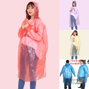 24H, DHL DENİZCİLİK, Tek Yağmurluk Yetişkin Acil Su geçirmez Panço Seyahat Kamp Coat kerelik'i Acil Rainwear FY4027 Rain Must