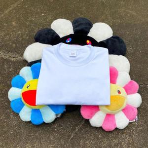 T-shirt Camiseta EUA marca de moda verão 20SS LOGO Relief Top Box Tee Marca Print Designer com manga curta cores brancas UE US S M L XL