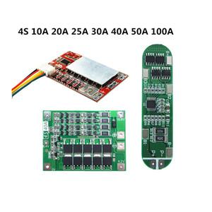 Pièces Batterie ccessoires Chargeur ccessoires BMS 4S 10 20 25 40A 50A 30A 100A Pour 3.7V Li-ion Protection de la batterie