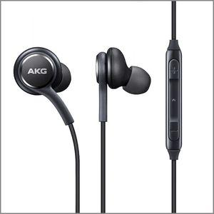 S8 наушники гарнитуры микрофон для Samsung Galaxy S8 S9 S10 Примечание 6 7 8 3,5 мм наушники Подлинная телефон Наушники EO-IG955BSEGWW Handsfree Earbuds