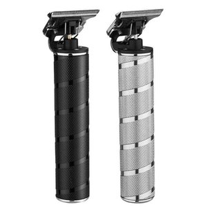 Hot-selling retro oil head electric clipper hair salon professional push white carving electric fader men T9 electric hair clipper