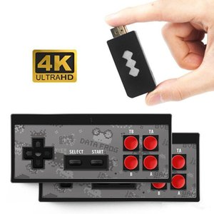 Newest 4K HD Video Game Player Wireless Handheld Game Joystick HDMI 568 AV 600 Retro Classic Games Wireless Portable Game Consoles