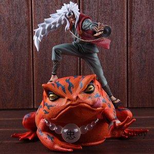 Figura de acción de Naruto Shippuden Juguetes Jiraya Jiraiya / Gama-Bunta Naruto PVC de Colección modelo de juguete T200321