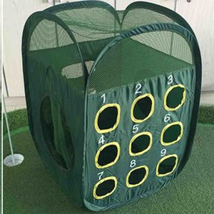 CRESTGOLF Golf Practice أقفاص التقطيع صافي القتال صافي أرجوحة الجولف ماتس ممارسة المعدات في الهواء الطلق