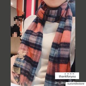 Luxury Winter Cashmere Scarf Pashmina For Women Designer Mens warm Plaid Scarf Fashion Women imitate Cashmere Wool Scarves 76 ro