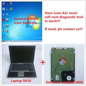 2019.07 software para BMW icom a2 próximo software de diagnóstico ISTA D: 4.17 P: 3.66.1 com laptop d630 para BMW diagnóstico de carro