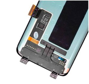 Display LCD per Samsung Galaxy S8 G950 con touch digitizer assembly nero Nave libera