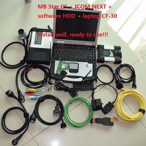 Новейший диагностический mb star c5 sd connect compact 5+ для bmw icom next b c + 1TB hdd для bmw icom mb star c5 программное обеспечение + ноутбук CF30 Toughbook