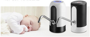 التلقائي مضخة مياه الشرب 2 الألوان الشحن USB المحمولة تبديل زجاجة المياه الكهربائية مصدر مياه OOA7274-2