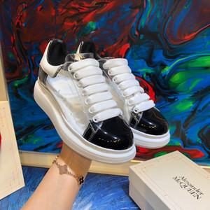 2018Scarpe Da Uomo Di Design formateurs de la chaîne plate-forme de réaction scarpe MQ chaussures unisexe haut chaussures de qualité en cuir