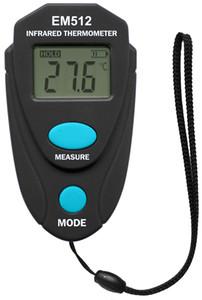 Карманный размер Инфракрасный термометр Цифровой тестер температуры Бесконтактный лазерный тестер температуры ЖК-дисплей All Sun EM512