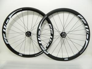 blanco FFWD disco de 38 mm de disco Center Lock juego de ruedas 6 tornillos 700C camino para bicicleta de carbono wheelse