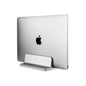 Suporte de mesa de alumínio com largura ajustável para Superfície Chromebook Doca Vertical Laptop stand Dock para Macbook Air Pro 13 15
