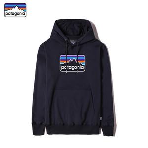 Patagonia alta qualità del cotone hoodies del manicotto lungo del progettista degli uomini supera con logo e tag consegna felpa fulminea maschile Patagonia