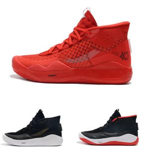 2020 ZOOM KD Kevin Durant 12 XII Cant Atlama Dub Ulus 90S ÇOCUK Colorway Elit Erkek Basketbol İçin Ayakkabı Atletik Spor Spor ayakkabılar
