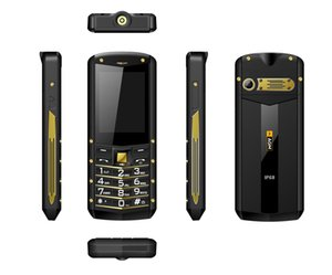 "(Supporto RU Language) AGM M2 2.4"" Rugged Phone Dual SIM posteriore 0.3MP Telefono esterno IP68 impermeabile antiurto torcia elettrica 1970mAh"