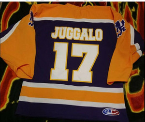 Custom2020 Insane Clown Posse ICP JUGGALO WEEKEND Mardi Gras Hockey Jersey Bordado costurado personalizar qualquer número e nome Jerseys