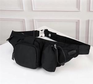 Gros hommes et femmes nouveaux sac de ceinture de toile de tissu parachute mode poche poitrine multifonction grande capacité de loisirs en plein air sac de sport