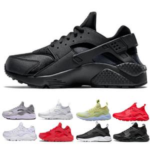 Nike air huarache 2019 Huarache ультра кроссовки тройной белый черный красный Мужчины Женщины кроссовки желтый серый Huaraches спортивная обувь мужские женские кроссовки 36-45