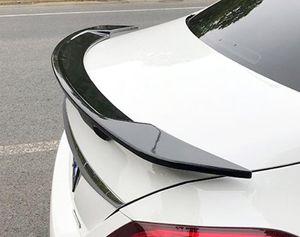 Для W117 Спойлер GT 2015-2018 Mercedes-Benz CLA W117 CLA180 CLA200 Спойлер ABS пластик Материал заднего крыла цвета Задний спойлер