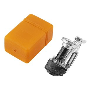 1.94kW Portable Foldable Mini Cooking Stove Gas Outdoor Camping Survival Furnace with Stainless Steel Stove Case Drop Shipping