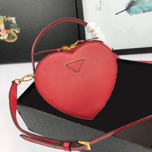 sacs de selle de design de luxe dame avec l'épaule de coeur mode d'un totes sacs de véritables sacs de ceinture en cuir véritable
