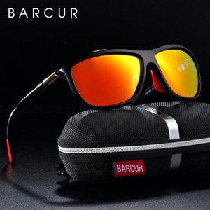 Barcur Sportbrillen Herren Sonnenbrille polarisierte Frauen Sun-Glas Oculos De Sol Feminino Barcur Sports RoJia
