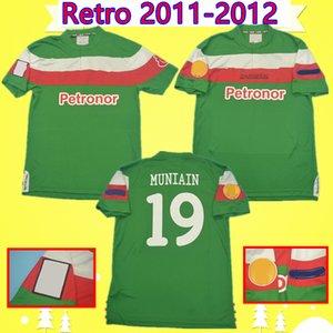 Final 2011 2012 retro Athletic Bilbao football jersey 11/12 TOQUERO football shirt vintage MARTINEZ uniforme LLORENTE SUSAETA de MARCOS Espanha