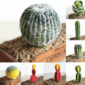 Jardín Desierto Decoración Plantas Artificiales Delicadas Falsas Cactus Prickly Pear DIY Paisaje Inicio Diversos Simulación Suculentas