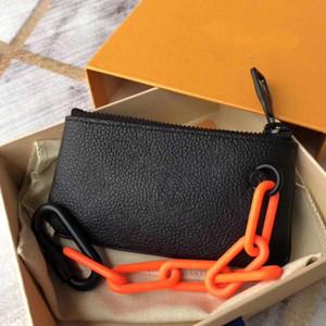 De lujo del diseñador clásico monedero con la cremallera de la carpeta para las mujeres bolsa de la moneda Mujer de lujo de diseño bolsos monederos con la caja