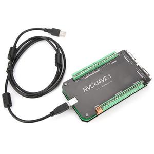 스테퍼 모터 새로운 홈 개선 NVCM 4 축 CNC 컨트롤러 MACH3의 USB 인터페이스 보드 카드