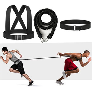Latex Resistance Bands Training Exercise Yoga Tubes Pull Rope Agility Running Training Sprint Workout Rope Exercise Equipment