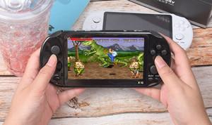 카메라 5.1 인치 지원 TF 카드 32기가바이트 MP3의 MP4 플레이어와 TOP 품질 X12 핸드 헬드 게임 플레이어 8기가바이트 메모리 휴대용 비디오 게임 콘솔
