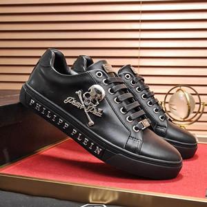 Orijinal Kutusu ile moda Erkek Ayakkabı Herren Sportschuhe Chaussures hommes Erkekler Ayakkabı Deri Büyük Boy Dantel Up Lo-Top Sneakers ...