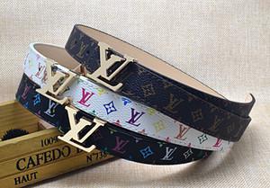 Cinturino in pelle PU per bambini all'ingrosso classico Plaid Cinture per bambini Nero Argento Fibbia in oro per bambini Cintura in vita / cinturino per il tempo libero