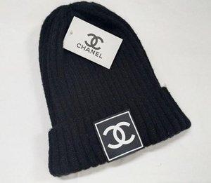 Tricoté Mode Cap Femmes Automne Hiver hommes coton chaud Hat Marque cheveux lourds balle Twist tuques Chapeaux de laine Hip-Hop Solid Color 99