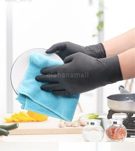 100Pcs Gloves Garden Kitchen Disposable Ware Plastic For Home 0F34