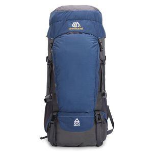 Borse all'aperto 65L Zaino da escursionismo impermeabile Sport Viaggio Daypack per uomo Donne Camping Trekking Touring Grande capacità